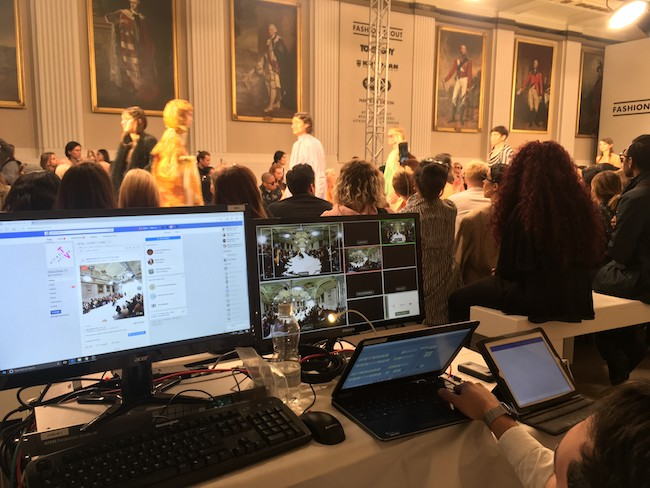 Live 360 Video at London Fashion Week | The Streaming Company News